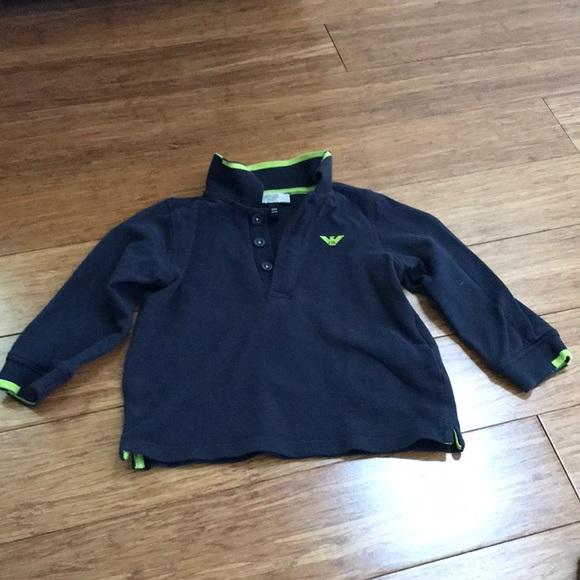 f5f3e28a1a1 Armani Junior Other - Baby Boys Armani Long Sleeve Polo
